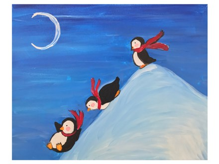 Mt. Washington Kid's Penguin Canvas - Jan. 12th