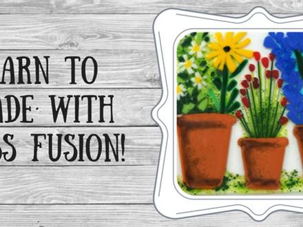 Glorious Garden Glass Fusion
