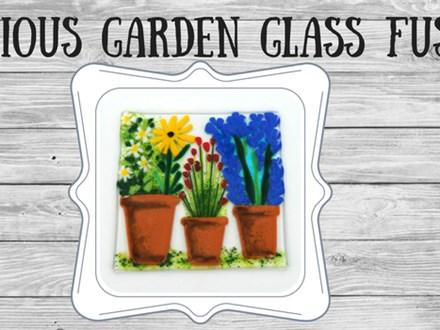 Glass Fusion Glorious Garden