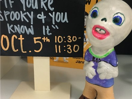 """Pre-K Storytime """"If You're Spooky and You Know It!"""""""