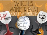 Adult Class: Witches Wine & Paint - October 5 @ 6pm