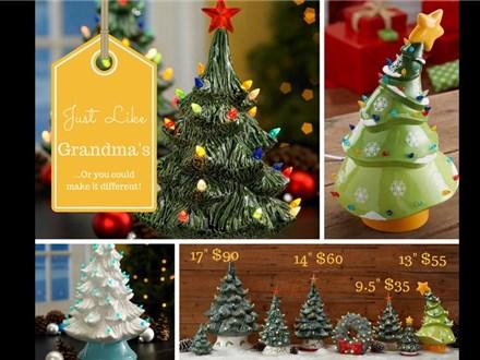Lighted Christmas Tree Painting Class