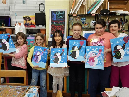 Step By Step Kids Canvas Class