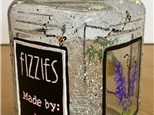 Ladies Night Out - Essential Oil Cleaning Fizzies & Glass Jar - 07.14.18