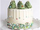 Parent/Child Christmas Tree Cake