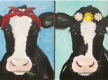 Choice Cow (16x20 canvas) Please specify upon registration.