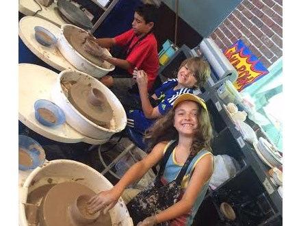 Pottery Wheel and Canvas Combo 2-Day Camp Ages 10-14