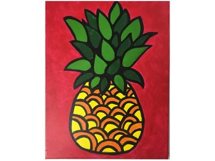 Pineapple Kids Canvas - 09/29