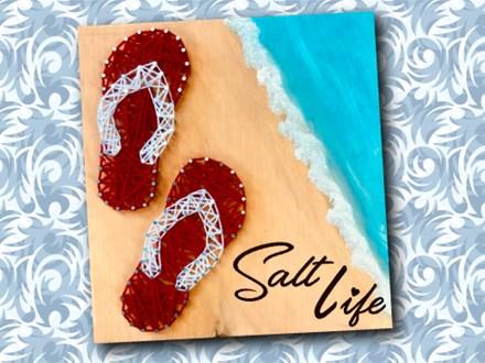 Salt Life String Art Paint N' Sip - July 18th