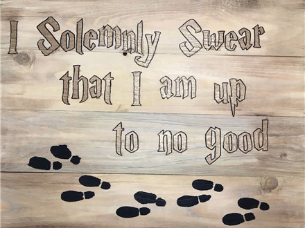 Board Art - I Solemnly Swear ... - Evening Sessioni - 09.09.17