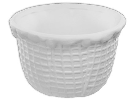 Pottery to Go-Waffle scoop bowl