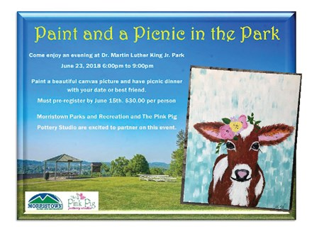 June 23rd Cow Painting at the Park