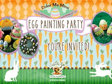 Egg Painting Party: March 24th, 2018 @ 9am