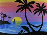 "Paint & Sip ""Paradise Found"""