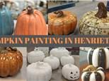 PUMPKIN PAINTING IN HENRIETTA 10/15