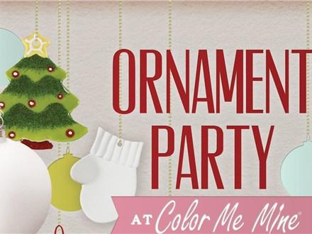 Ornament Paint Party