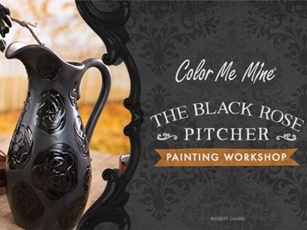 Adult Workshop - The Black Rose Pitcher! - Oct 23rd