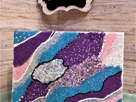Glitter Canvas Class!