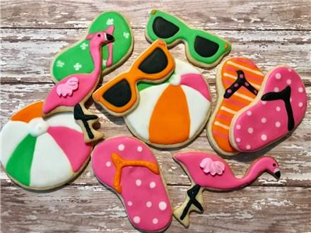 Beachy Cookie Decorating Class