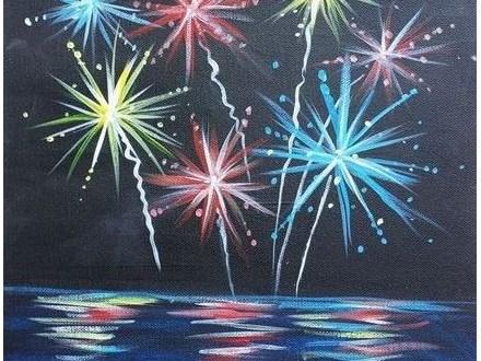 Canvas Class: Fireworks - June 24, 2017