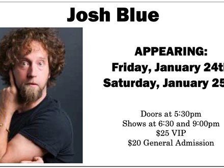 Josh Blue (VIP Tickets) - January 25 - Muskegon
