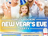Family Rockin' New Year's Eve Party 2020: 9pm - Midnight!