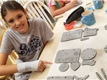 Ceramic, Clay & Crafts Summer Camp (8/10-8/14 Full Week)
