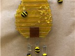 Fused Glass - Bee Hive Wind Chimes - 07.12.18