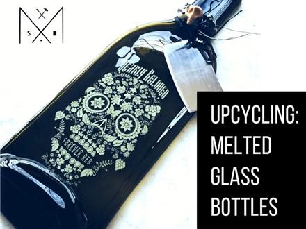 Upcycling: Melting Glass Bottles