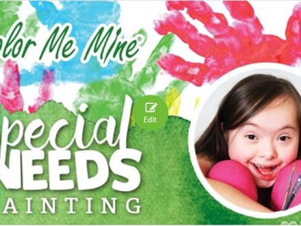 Special Needs Painting Event - September 3, 2017