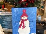 Painting Snowmen this evening!