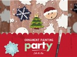 ORNAMENT PAINTING PARTY - NOV 6 + 13
