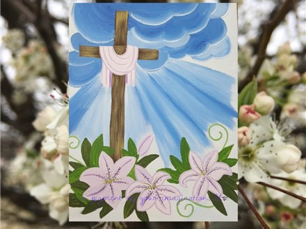Easter Cross Canvas Event