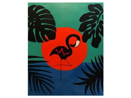 Adult Class Cari Flamingo Canvas 07/25