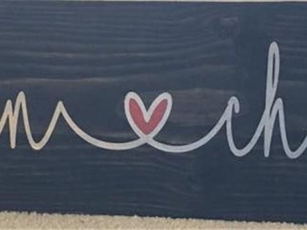 Raegan's Private Group - Couple's Names Board Art - 01.07.18