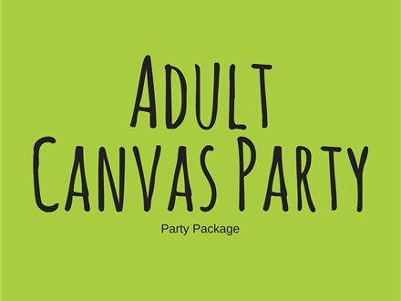 Adult Canvas - Party Package