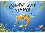 Giraffes Can't Dance Book and Paint