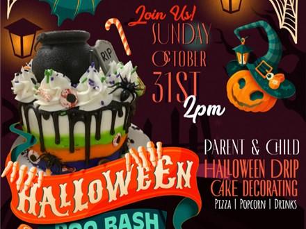 Halloween BOO Bash! Parent/Child Drip Cake Class