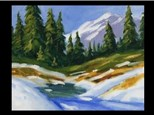 "12/09 GA-OIL: ""Christmas Snow Scene""  6:30 PM $45"