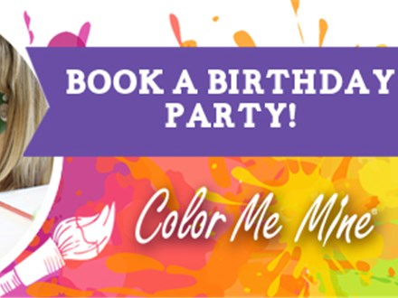 Birthdays, Bridal Showers, Paint Parties & more!