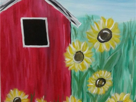 Barnyard Blossoms - Paint & Sip - June 29
