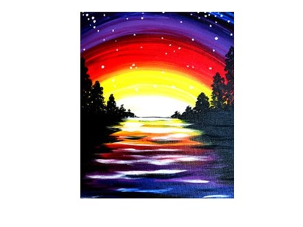 Mystic Retreat - Canvas - Paint and Sip