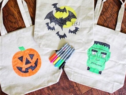 Halloween Tote Bag Painting Oct. 30 $30