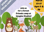 SPRING BREAK ART CAMP: FOREST FRIENDS