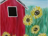 Barnyard Blossoms - Paint & Sip - August 2
