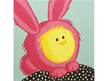 Kid's Canvas - Hoppy Easter - Morning Session - 03.27.19