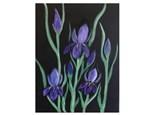 """Iris on """"Velvet"""" - Paint & Sip - Sept 27"""