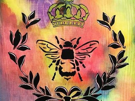 Board Art - ChARiTy night - Marion County Bee Keepers Club Fundraiser - 07.26.18