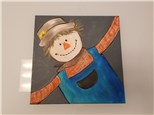 Scarecrow Kids Canvas Class (age 6 and up) $25