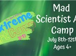 Mad Scientist Art Camp